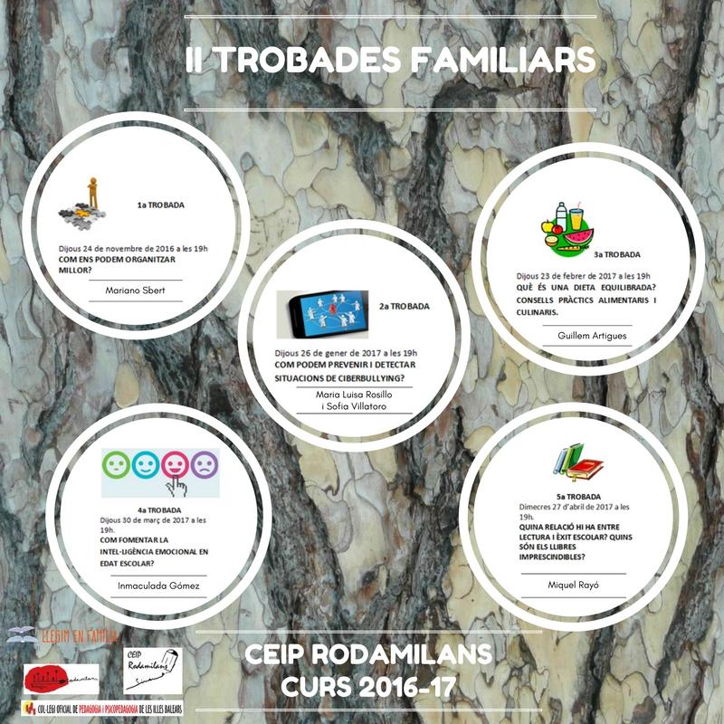 TROBADES FAMILIARS 2016-2017
