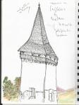 10 una torreta, esglèsia de Biertan