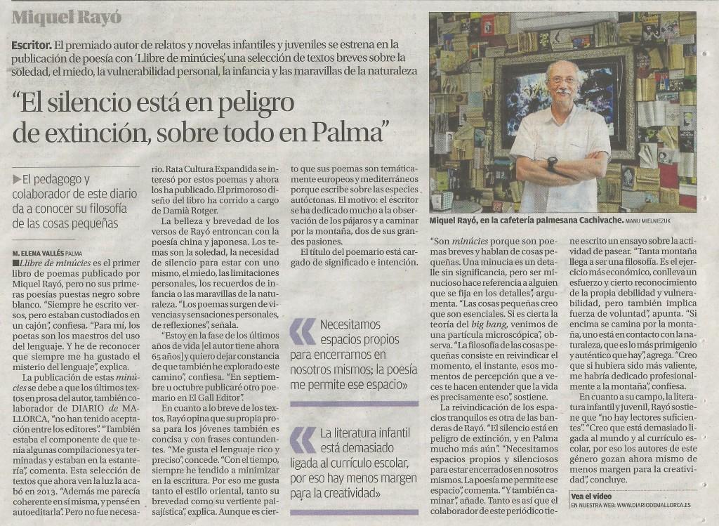Diario de Mallorca, 13 juny 2017