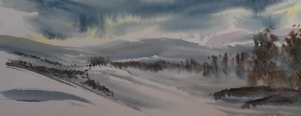 paisatge nevat - còpia