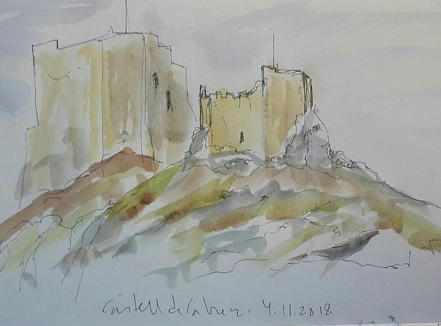 apunts del castell de Cabrera