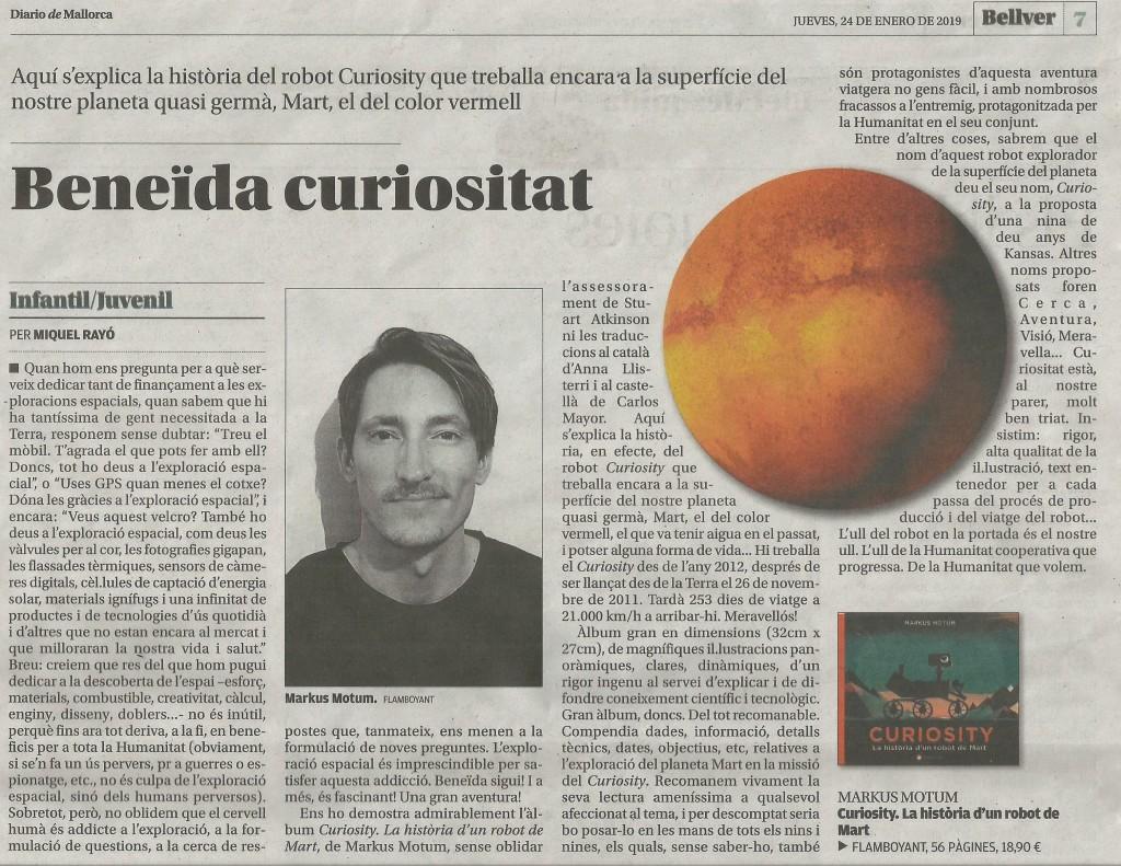 Curiosity 24 gener 2019