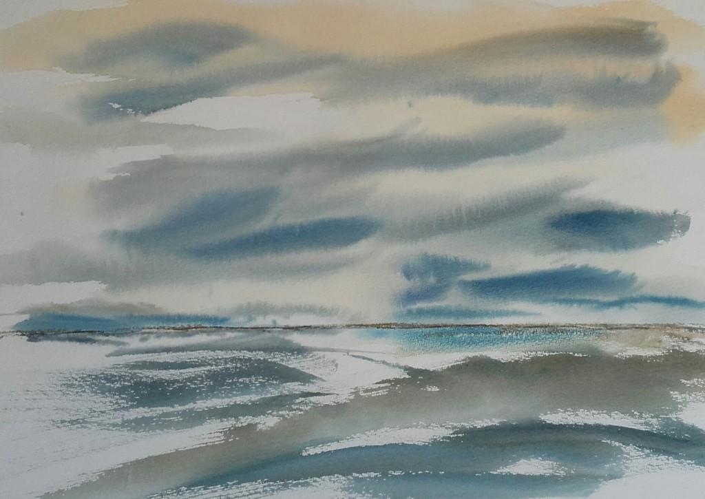 paisatge en blaus i grisos